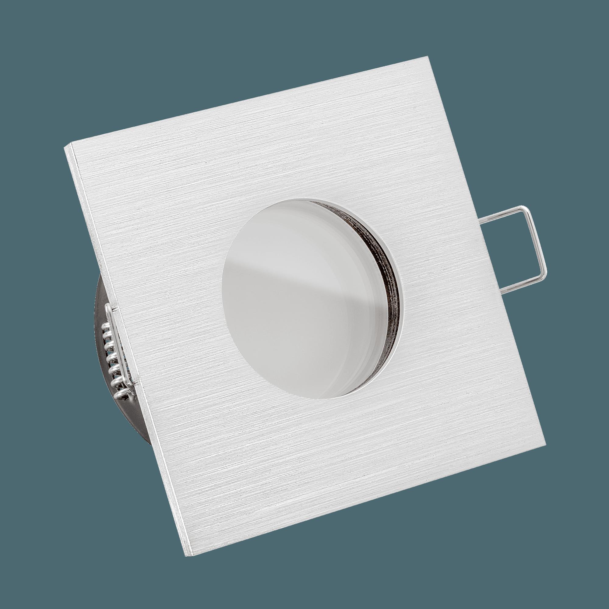 ultra flache lista aqua bad led einbaustrahler 230v nur 35mm flach dimmbar 6w statt 70w. Black Bedroom Furniture Sets. Home Design Ideas