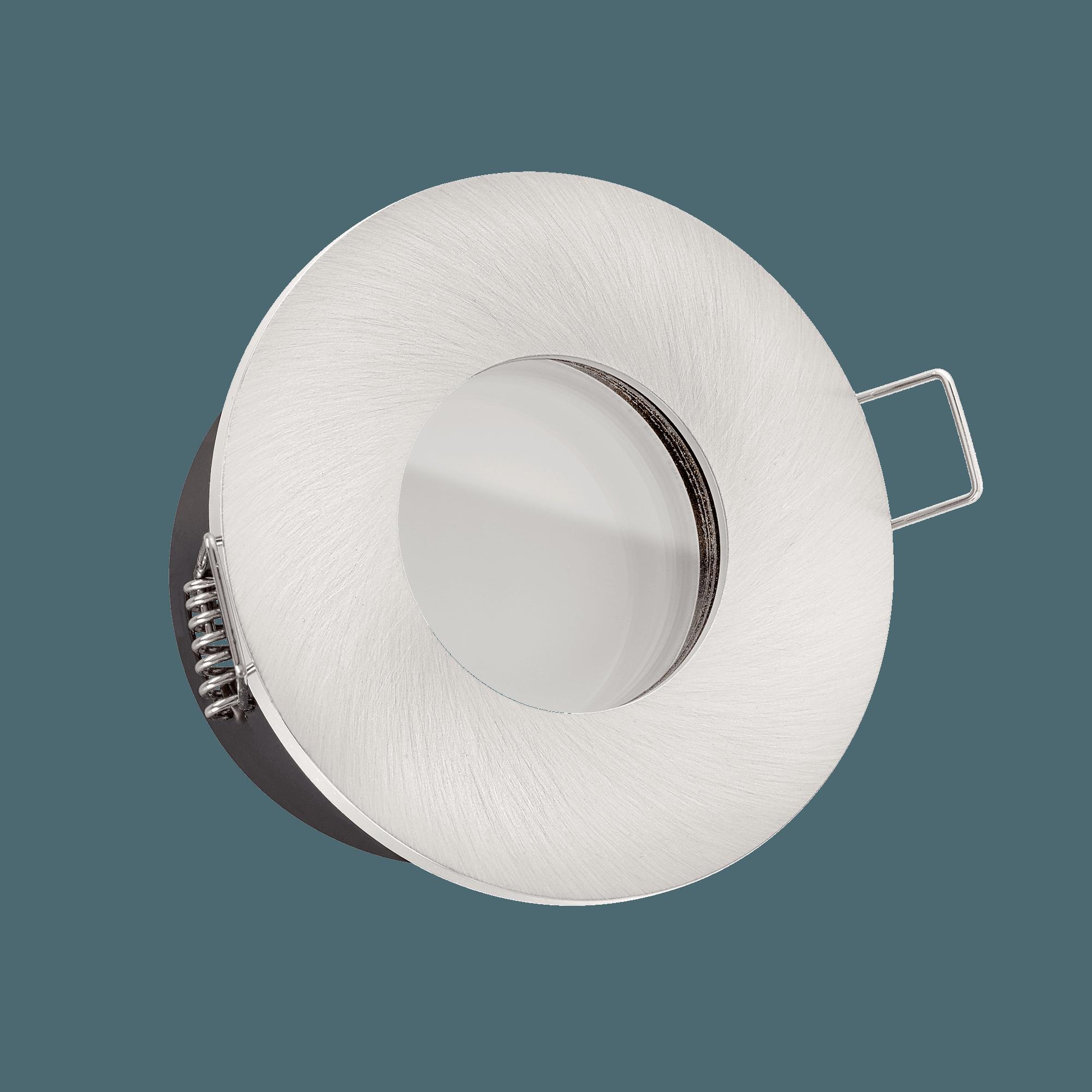 Knx Dali Kompatible Bad Led Einbaustrahler Extra Flach 25mm Dimmbar 6w Statt 70w Lista Aqua Eisen 120 Abstrahlung Aluminium Rund Ip65